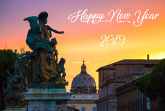 Happy New Year 2019 - Belle et Heureuse Année 2019 (3) (Cloudwhisperer67) Tags: happy new year 2018 bonne année raphaël wish wishes best wonderful merry fest great amazing superbe an cloudwhisperer67 paris louvre pyramide pyramid golden france light lit night by dawn aurore canon 760d have happynewyear2018 happyneweve happynew happynewyear photography photo joyful love lovely sky ciel blue violet yellow orange colors color colorful sunset sunrise city cityscape 2019 happynewyear2019 hny2019 bonneannée2019 statue rome roma italia italy italie red