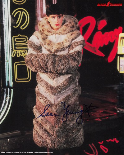 SEAN YOUNG - BLADE RUNNER 8X10 (COOLWATERS) $40