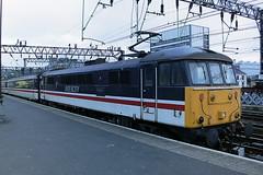 BRITISH RAIL 86258 TALYLLYN - THE FIRST PRESERVED RAILWAY (bobbyblack51) Tags: british railways class 86 br design english electric bobo locomotive 86258 talyllyn the first preserved railway glasgow central station 1993