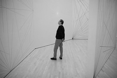 Lost in space (San Diego Shooter) Tags: art museum sanfrancisco sfmoma moma streetphotography