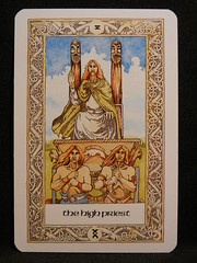 The High Priest. (The Hierophant) (Oxford77) Tags: tarot thenorsetarot norse viking vikings cards card tarotcards