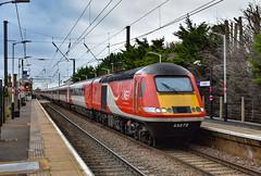 43272 + 43277 - Foxton -  13/01/19. (TRphotography04) Tags: london northeastern railways lner hst 43272 43277 pass through foxton working diverted 1s20 1246 kings cross aberdeen