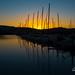 Airlie Beach Marina Sunset