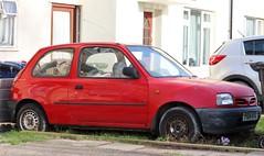 P104 KVX (Nivek.Old.Gold) Tags: 1996 nissan micra shape 3door 998cc