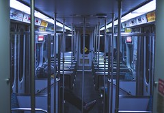 Public display of relaxation (qtbmx23) Tags: publictransportation train a6300 sonyalpha streetphotography
