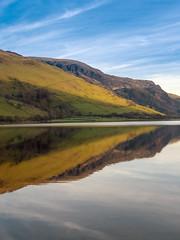 Reflection (Howie Mudge LRPS BPE1*) Tags: talyllyn lake water sky bluesky mountain reflection landscape nature ngc adventure travel gwynedd wales cymru uk panasonicg9 mft m43 microfourthirds panasonicdmcgx8 lumixg25f17