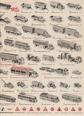 Wiking-1965-3 (adrianz toyz) Tags: wiking west germany berlin plastic models 187 ho 190 catalogue brochure list 1965 model adrianztoyz scale verkehrs modelle car bus truck lorry van prospekte
