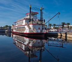 Barbara Lee Steam boat (The Vintage Lens) Tags: steam boat paddle water st johns river