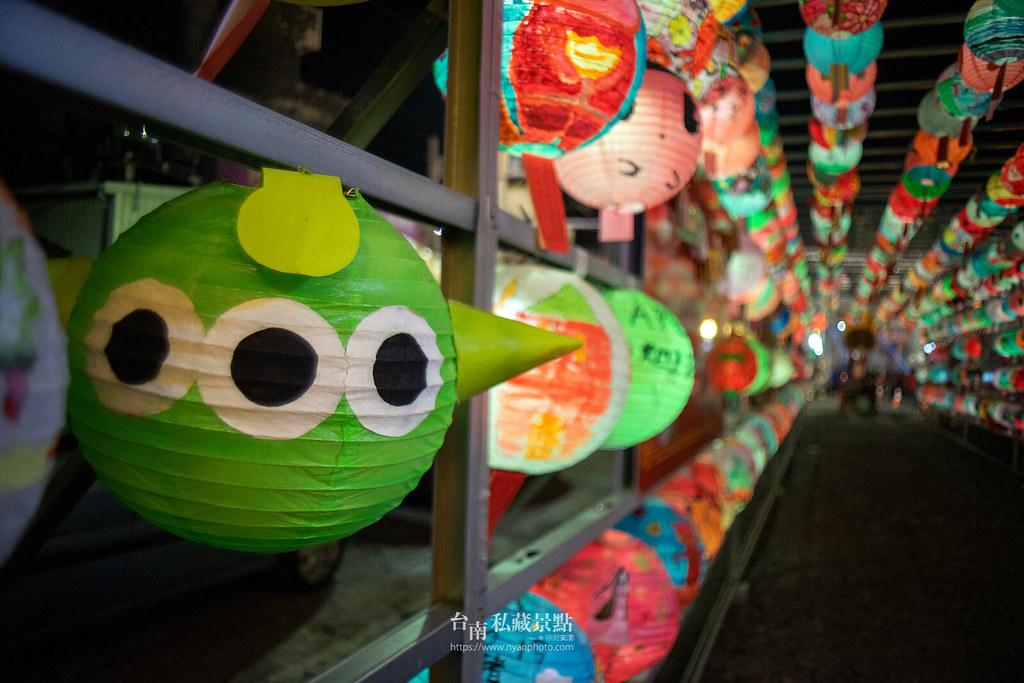 六甲媽祖廟燈會 | 最接地氣的恒安宮花燈-8