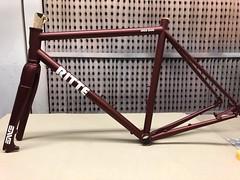 Brake Side (Patrick Strahm) Tags: ritte snobdisc stainless steel roadbike repaint decals cycleworks