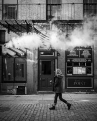 passing by (gedankenstuecke) Tags: citylife thepoint winter streetscene boston bar pub streetlife streetscenes