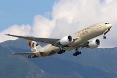 A6-DDD, Boeing 777F, Etihad Cargo, Hong Kong (ColinParker777) Tags: a6ddd boeing 777 77f 777200f 777lrf 777200lrf b777 b77f b777200f b777200lrf b777lrf cargo freighter freight airliner aircraft airplane plane aeroplane etihad crystal airlines airways air hong kong sar hksar hkg vhhh chek lap kok airport mountains hills lantau trees green sky clouds blue takeoff fly flying flight departure engines general electric ge90 canon 7d2 7dmk2 7dmkii 7dii 200400 l lens zoom telephoto pro 62744 1374 777ffx b777ffx