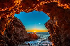 Malibu Fine Art Photogaphy Nikon D850 Malibu Sea Cave Sunset Fine Art California Coast Beach Landscape Seascape Photography! El Matador State Beach Elliot McGucken Fine Art Pacific Ocean Sunset! Nikon D850 & AF-S NIKKOR 14-24mm F2.8G ED! High Res 4k 8K! (45SURF Hero's Odyssey Mythology Landscapes & Godde) Tags: nikon d850 malibu sea cave sunset fine art california coast beach landscape seascape photography el matador state elliot mcgucken pacific ocean afs nikkor 1424mm f28g ed from high res 4k 8k