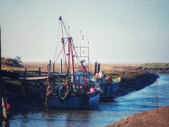 Fishing boat (Artybee) Tags: gibraltar point lincolnshire olympus mirrorless camera em10