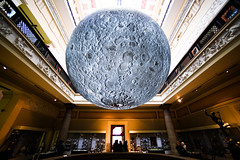 Jerram's moon 2 (Chilanga Cement) Tags: moon harrismuseum harrispreston jerramsmoon lukejerram preston museum lancashire nikon nik nikond850 d850 wide wideangle indoors availablelight
