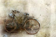 Bicycle (ulli_p) Tags: asia art artofimages aworkofart bicycle flickraward ruralthailand thailand texture textured texturedphoto