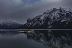 Lake Minnewanka (Robert Grove 2) Tags: lake banff boathouse