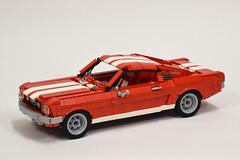 '65 Ford Mustang GT (1) (Dornbi) Tags: lego ford mustang gt 65 115