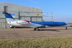 Loganair Embraer ERJ-145EP EMA 23/02/19 (bhx_flights) Tags: eastmidlands eastmidlandsairport embraer embraer145 airport ema egnx loganair bmi bmiregional