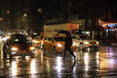 (kayters) Tags: red rain raining wet umbrella winter february newyorkcity newyork eastcoast kaytedolmatchphotography kathleendolmatch explore travel adventure nightphotography canon cityscape portrait citylights colorful colors taxis streetphotography