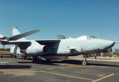 ERA-3B 144832 N162TB Thunderbird Aviation (spbullimore) Tags: states united navy us usn n162tb 144832 thunderbird aviation deer valley airport phoenix arizona az usa 1994 skywarrior douglas era3b a3