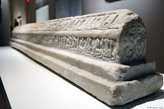 Marble tombstone (Can Pac Swire) Tags: middleeastern art museum islamic agakhan toronto ontario canada canadian arabic muslim 2018aimg6881