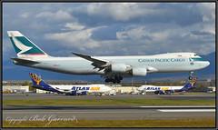 "B-LJC Cathay Pacific Cargo ""100"" (Bob Garrard) Tags: bljc cathay pacific boeing 747 748 748f anc panc 100 cargo"
