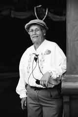 Grandma Pat (dualdflipflop) Tags: disney disneyland people f100 nikon nikonf100 blackandwhite bw film filmphotography analog