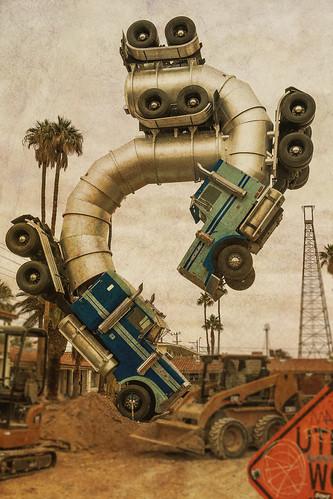 """Big Rig Jig"" Public Art in Downtown Las Vegas"