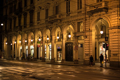 Torino (jansterino) Tags: torino turin italia italy piemonte travel rain city rainy lights night nikon d3300 nikkor 35mm noflash turismo