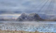 Dumbarton Castle (Michelle O'Connell Photography) Tags: dumbarton fog mist morningmist weather castle dumbartoncastle volcanicbasalt rock riverclyde scotland medieval ironage glasgowphotographer michelleoconnellphotography