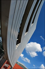 Angled view (Logris) Tags: architecture architektur building gebäude abstract pov pointofview dusseldorf düsseldorf