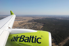 YL-AAO 040420192 (Tristar1011) Tags: ylaao airbaltic airbus a220300 bcs3 bombardier cseries cs300 inflight spilve riga letland latvia