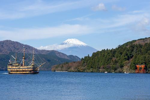 Hakone Pirate Ship 1