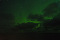 Aurora Borealis (Seventh Heaven Photography *) Tags: borealis northern lights green clouds sky sea norwegian norway arctic 7thmarch2019 nikond3200 auroraborealis northernlights aurora cruise po lofoten islands rost