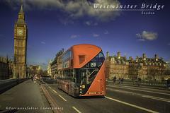 Westminster Bridge (Fotomanufaktur.lb) Tags: bus bridge london bigben schoelkopf schölkopf england greatbritain