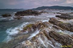 Punta de Canyellas. (Ernest Bech) Tags: catalunya girona costabrava altempordà mar sea seascape landscape llargaexposició llums lights rocks roques