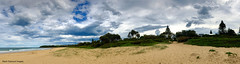 Grey Clouds over Diamond Beach, Hallidays Point, Mid North Coast, NSW (Black Diamond Images) Tags: greyclouds diamondbeach hallidayspoint midnorthcoast nsw clouds rainclouds australianbeaches beaches beach nswbeaches australia appleiphonex iphonexbackdualcamera iphonex iphone appleiphonexpanorama iphonexpanorama panorama