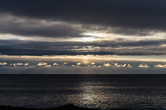 Monochrome Dawn (loomstone) Tags: sunrise dawn ogunquit maine beautifulclouds seascape skyscape