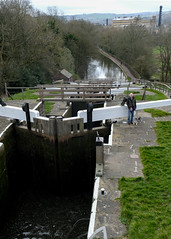 A View Down The Valley (j-paul-l) Tags: leeds liverpool canal five rise stairway bingley