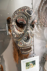 Mask of Papua New Guinea (quinet) Tags: 2017 aborigène britishcolumbia canada kunst museumofanthropology ubc ureinwohner vancouver aboriginal art museum musée native