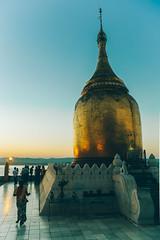 Gu Paya Pagoda, Bagan, Myanmar, January 2019 (Etienne Gab) Tags: myanmar burma burmese birmanie travel tourism asia asie bouddhisme buddhism bouddha bu paya pagoda pagode pagodas pagodes stupa stûpas irrawady river aerawady bagan old temple temples worship pilgrim sunset sunrise dusk dawn bupaya bupayagyi 5d markiii mark iii