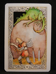 Seven of Swords. (Oxford77) Tags: tarot thenorsetarot norse viking vikings cards card tarotcards