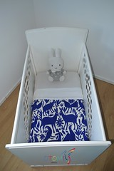 Baby Blanket cobalt blue | Otomi Mexico (Otomi Mexico) Tags: otomi fabric mexican table runner boho embroidery textiles mexico home decor decoration nijntje