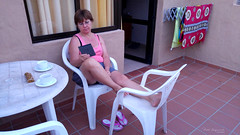Evening relax (piotr_szymanek) Tags: fuerteventura outdoor marzka woman milf portrait face eyesoncamera 1k 20f 5k 10k