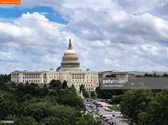 US Capitol Building (Little Hand Images) Tags: uscapitol building architecture domed washingtondc clouds sky congress senate government gettyimages editorialuseonly