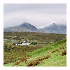 Isle of Skye - Fuji Pro 160NS (magnus.joensson) Tags: scotland isle of skye winter lealt hasselblad 500cm sonnar 250mm c fuji ns160 pro c41 6x6 film analogue