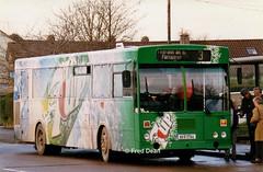 Bus Eireann KC163 (89D17144). (Fred Dean Jnr) Tags: buseireann gac kc163 89d17144 wrap 7up cork ballyphehane pearseroadcork december1998 buseireannroute203 alloverad uzg163