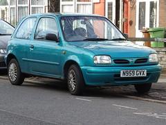 1996 Nissan Micra S (Neil's classics) Tags: vehicle 1996 nissan micra car