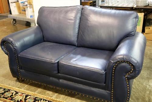 Nice Leather Loveseat ($336.00)